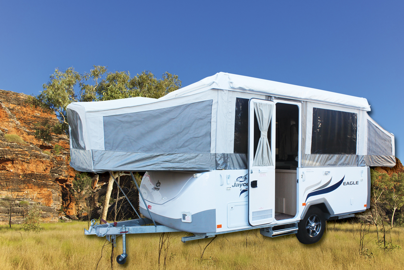 Pop Top Camper Trailer Hire Adelaide Main
